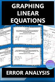 graphing linear equations solve for y
