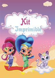 Shimmer And Shine Kit Imprimible Personalizados 390 00 En