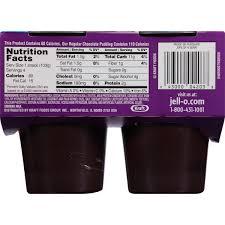 dark chocolate pudding cups