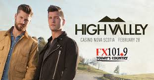 FX101.9 Presents High Valley - Events - FX101.9