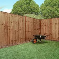 6 X 6 Pressure Treated Feather Edge Flat Top Fence Panel Waltons