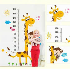Kids Height Chart Wall Stickers Nursery Growth Measurement Removable Decal Mp For Sale Online