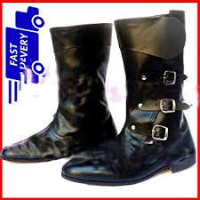 gift meval leather boots renaissance