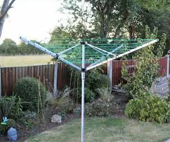 Anian 50m Garden 4 Arm Rotary Washing Line Clothes Dryer Airer With Ground Spike Lazada Ph