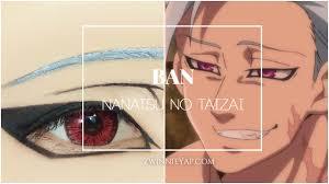 anime eye ban nanatsu no taizai