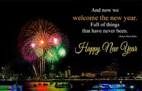 happy new year welcome quotes to say goodbye newyear