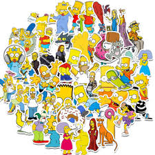 Simpsons Posters Stickers The Simpsons Family