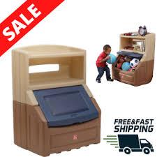 Bookcase Storage Chest Toy Kids Playroom Home Organizer Display Case Ball Box Ebay