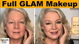 full glam makeup from former model