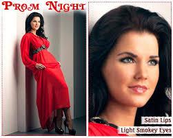 smokey eye for red dress fashion dresses