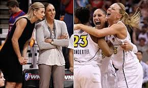 WNBA star Diana Taurasi marries her former teammate | Daily Mail Online