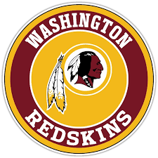 Washington Redskins B Vinyl Die Cut Decal Sticker 4 S