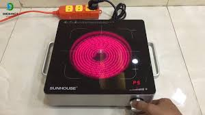 Bếp hồng ngoại Sunhouse SHD6013 - YouTube