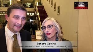 Intervista a Lunetta Savino - Conferenza Stampa Teatro Eliseo 2019 ...