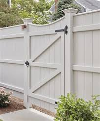 Chesapeake Style Privacy Fence Gate Cotuit Ma
