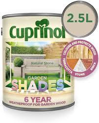 Cuprinol Garden Shades Natural Stone 2 5l Amazon Co Uk Diy Tools