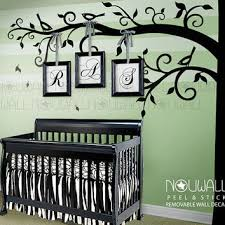 Corner Tree Wall Decal Baby Nursery Wall From Nouwall On Etsy