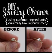 diy jewelry cleaner finding time to fly