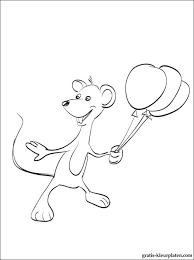 Kleurplaat Mickey Mouse Met Ballonnen Gratis Kleurplaten