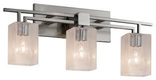 fusion aero 3 light bath bar square