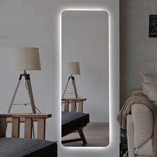 mirrors vanity led lighted wall mounted