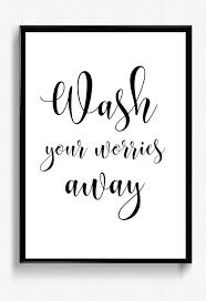 Wash Your Worries Away Printable Bathroom Wall Decor Etsy In 2020 Bathroom Printables Bathroom Wall Decor Bathroom Posters