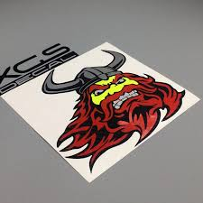 Xgs Decal Car Decals Funny Red Beard Viking Face 12 7 X 12 Cm With Car Motorcycle Truck Waterproof Vinyl Stickers Car Decal Decals Carfunny Car Decal Aliexpress
