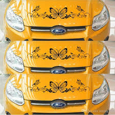 2020 Car Sticker Butterfly Note Whole Body Decals Sheet Music Piano Lovely Waistline Sticker Cover From Letong168 23 62 Dhgate Com
