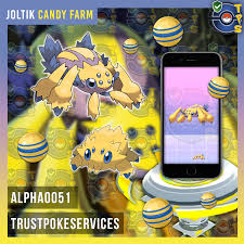 Pokemon Go x50 Joltik Candies for your Galvantula - Trust Poke ...