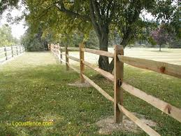 Split Rail Fence Black Locust Post Rail Fence Paddock Fence