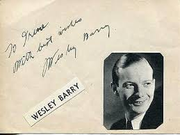 WESLEY BARRY SIGNED PAGE SILENT MOVIE CHILD ACTOR & BARBARA FREKING  AUTOGRAPH | eBay