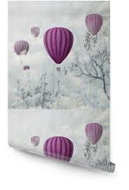 pink balloons wallpaper roll pixers