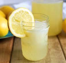 homemade lemonade recipe sweetened with