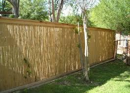 Home Depot Bamboo Fence Strangetowne Take Advantages Of Bamboo Wall Panels