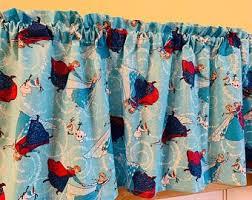 Frozen Curtains Etsy