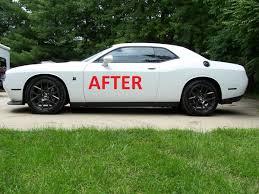 Dodge Challenger Marker Light Tinted Overlay Decal Set