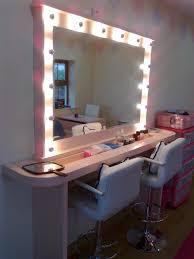 studio makeup mirrors with lights