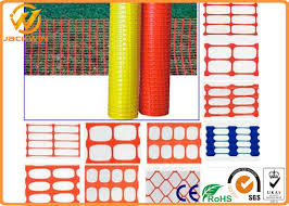 Temporary Lightweight Plastic Orange Safety Fence Safety Net High Visibility
