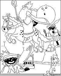 Sinterklaas En Zwarte Piet Kleurplaat 31153 Kleurplaat