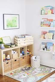 Baby Viklund S Cool Calm Eclectic Nursery Project Nursery Ikea Kids Playroom Storage Kids Room Baby Playroom