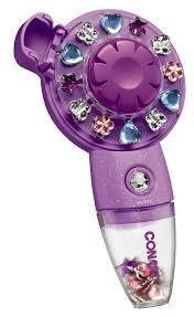 conair quick gems hair jeweler purple