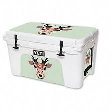 Mightyskins Protective Vinyl Skin Decal For Yeti Roadie 20 Qt Cooler Wrap Cover Sticker Skins Aztec Deer Continue To The Product A Cooler Yeti Coolers Yeti