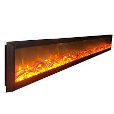 meter electric fireplace heater insert