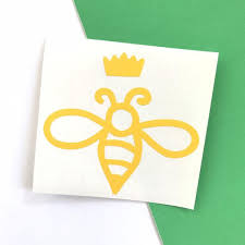 Queen Bee Decal Vinyl Decal For Car Window And Other Surface Etsy