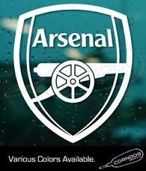 Arsenal Sticker Vinyl Decal Football Club Soccer Fifa League Premier Uk Ebay