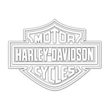 Harley Davidson Logo Cutz Rear Window Decal Walmart Com Walmart Com