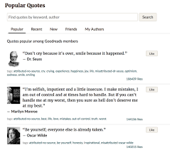 parse html for book quotes python beautiful soup and
