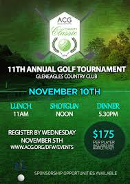 ACG DFW Golf Tournament | 28 Poster Designs for a business in United States