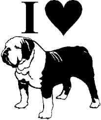 Bulldog Vinyl Window Decal Sticker