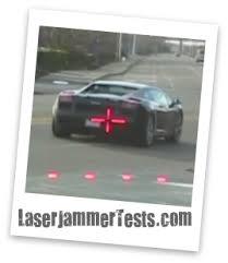 home laser jammer tests